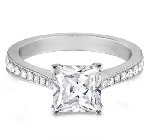 princess-cut-diamond-pave-engagement-ring