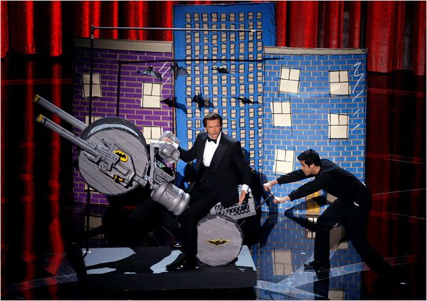Hugh Jackman at the Oscars
