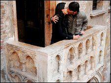 Juliet's Wedding Balcony in Verona