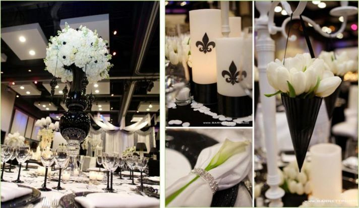 Hostess with the Mostess: Black & White Inspiration