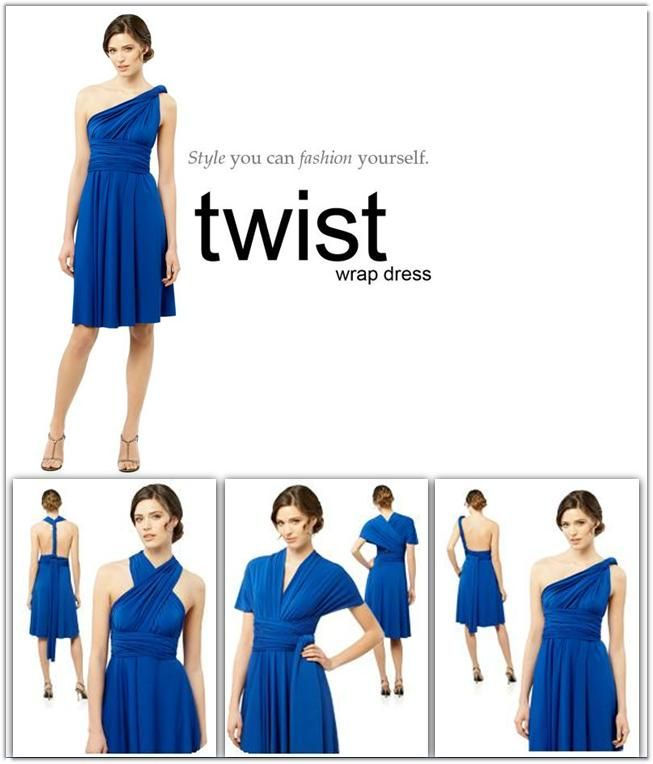 Dessy's Twist Dress is Perfect for Your Bridesmaids or Your Honeymoon