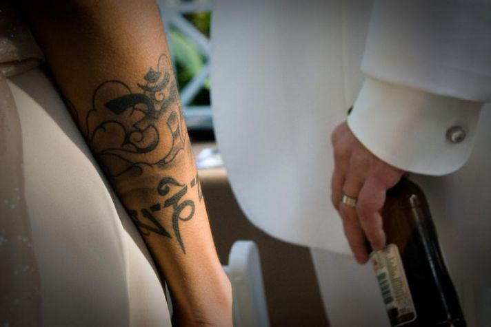 Beautiful bride tattoo