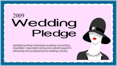 2009 wedding pledge