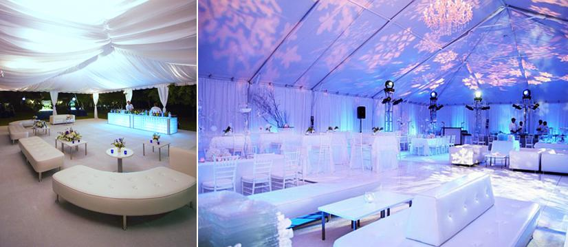 Babaninas Blog Winter Wedding And Party Decorating Ideas Silver Branches And Ornaments For