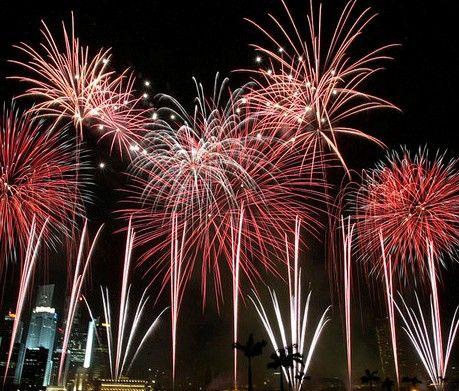 A Sparkling Reception Idea: Fireworks