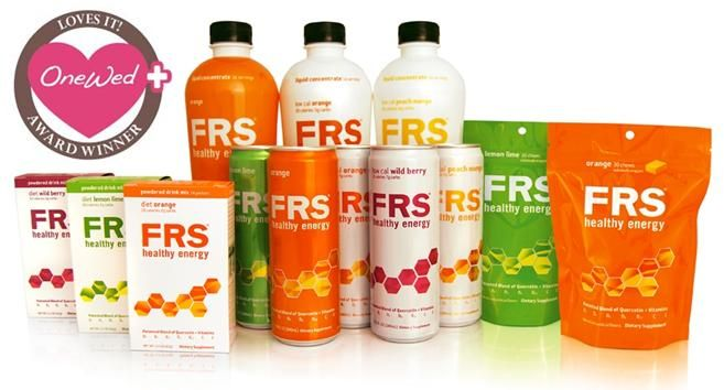 OneWed loves FRS healthy energy products for a perfect wedding day body!