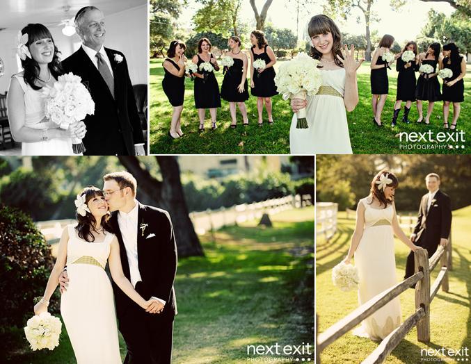 Ivory And Black Wedding