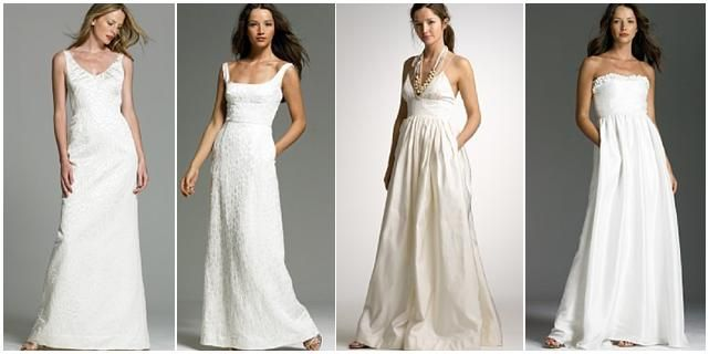 J.Crew.com wedding dresses- simple, chic, understated, and most importantly, beautiful