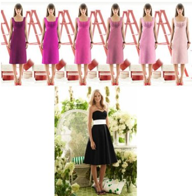The variety of shades available for Dessy bridesmaids dresses is amazing. Your rehearsal dinner dres