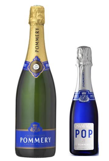 """Pommery Champagne for your """"something blue"""" at your wedding"""