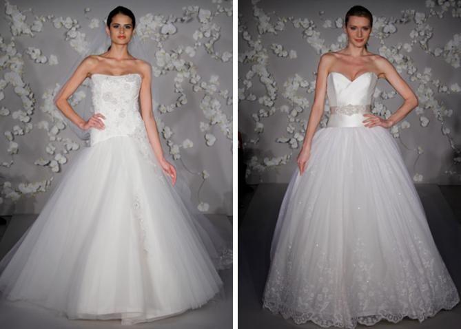 Ivory english net tulle wedding dress, ornate sash, full ball skirt