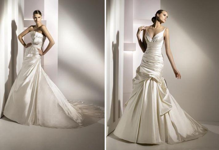 Stunning Spring 2010 wedding dresses from Pronovias