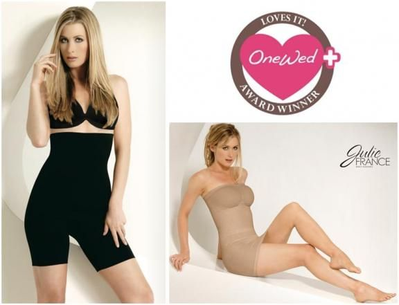 Your wedding dress will look even better on your wedding day with body shaping underwear in black or
