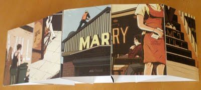 How did this graphic designer create an image that says Marry me?