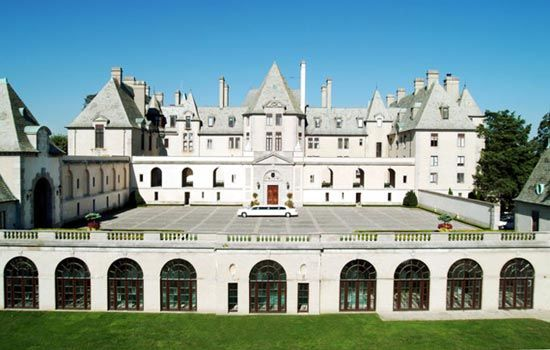 Wedding venue for Kevin Jonas- Oheka Castle in Long Island, NY