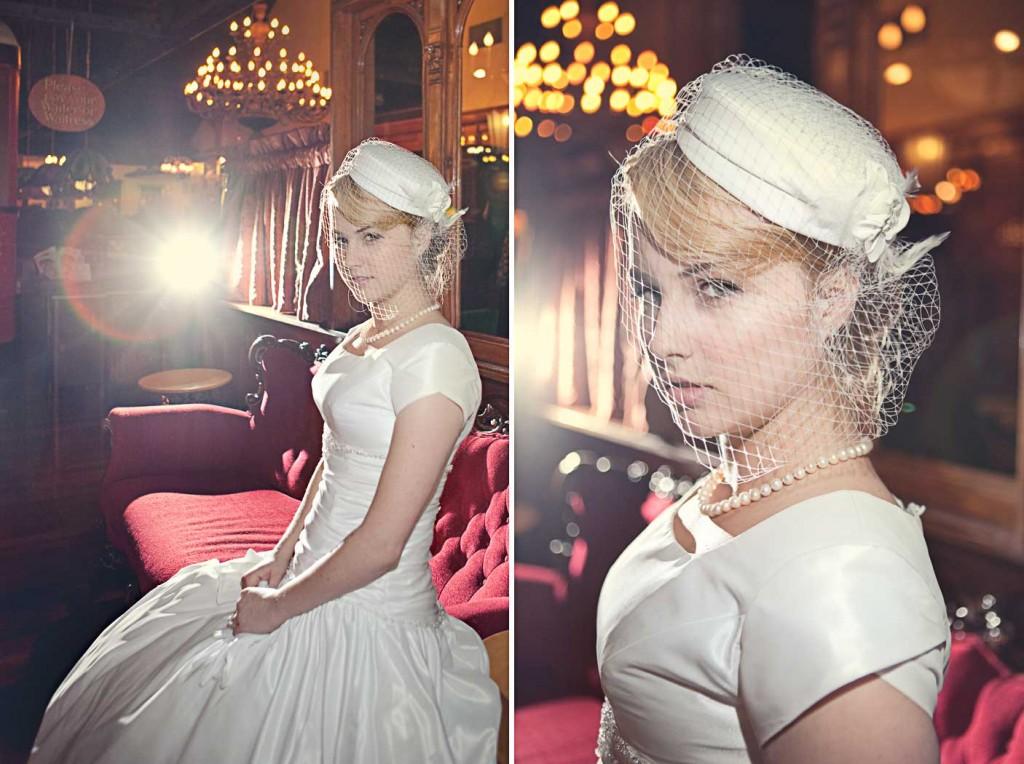 Платья с вуалью