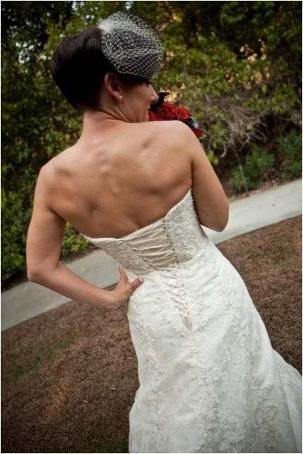 Stunning Maggie Sottero lace Vienna wedding dress with a vintage feel