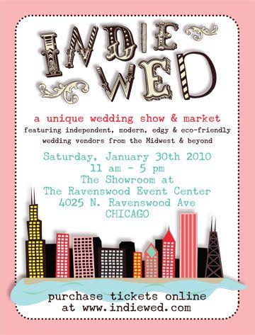 Indie Wed Chicago Bridal Show Market