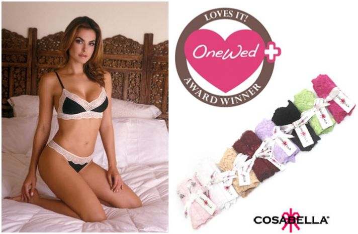 Win $100 from Cosabella to spend on sexy lingerie for your wedding night!