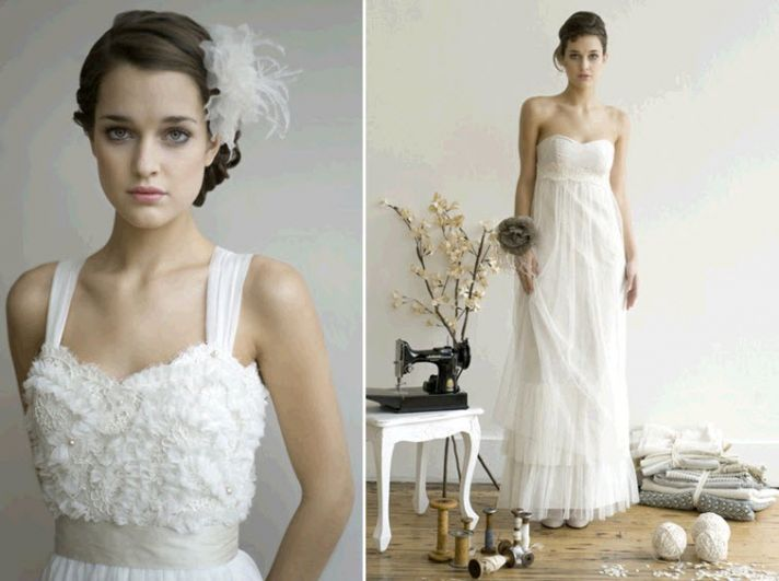 Bride chic etsy bridal designer showcase onewed for Wedding dress on etsy