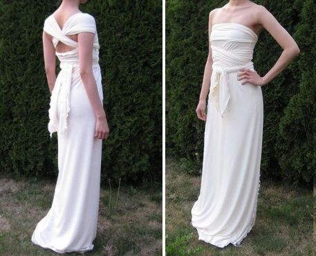 Recycled bride eco chic destination wedding dresses onewed for Recycle wedding dress ideas