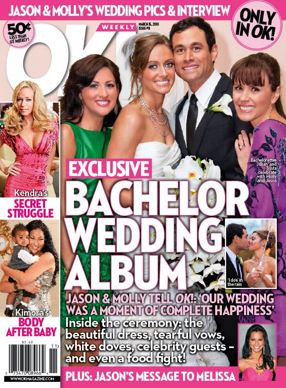 Jason Mesnick and Molly Malaney nuptials- inside look in Ok! Magazine
