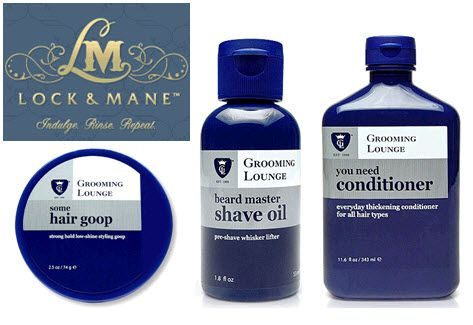 Make sure your groom looks dapper for the wedding with Lock and Mane hair products