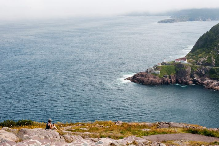 Stunning view of Bar Haven island in Newfoundland, Canada