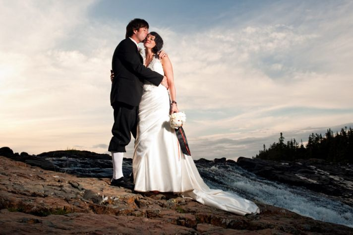 Featured Newfoundland Wedding: Cheryl and Justin
