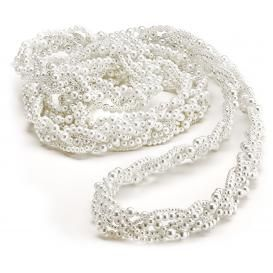 This beautiful white lasso is perfect for use in a Mexican Rope Ceremony also known as a lasso cerem