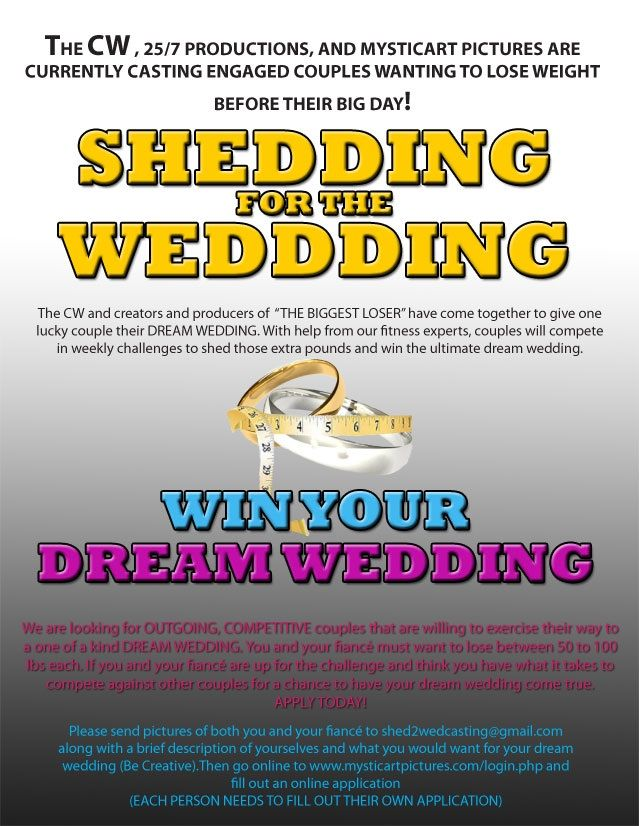 Win Your Dream Wedding (and lose weight)
