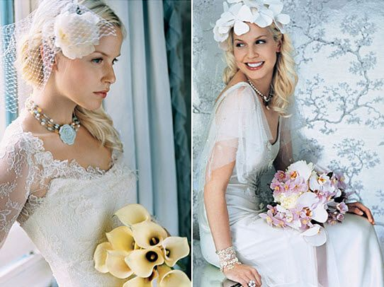 blondes in weddings dresses