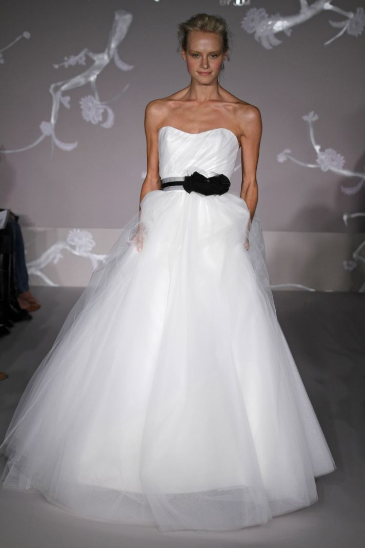 Spring 2011 wedding dresses from jim hjelm blush onewed for Jim hjelm wedding dresses