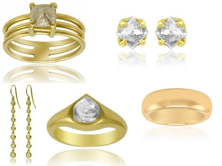 Eco-friendly luxury engagement rings, wedding bands and bridal bling