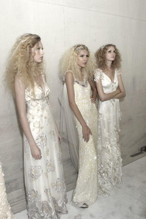 Spring 2011 bridal runway show- Claire Pettibone, Spirit of the Night