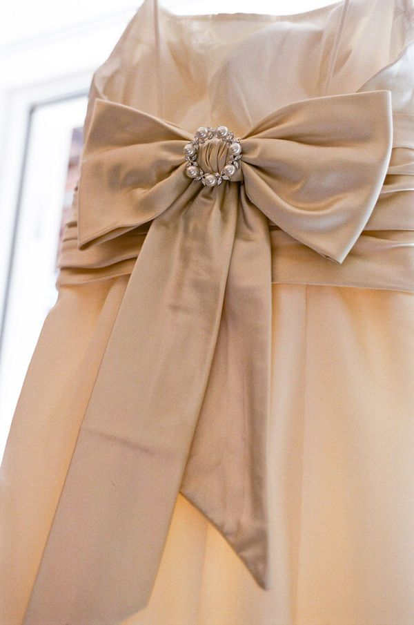 Keep your lovely wedding dress stain free