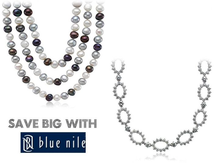 Score gorgeous bridal jewelry from Blue Nile for nearly 50% off retail prices
