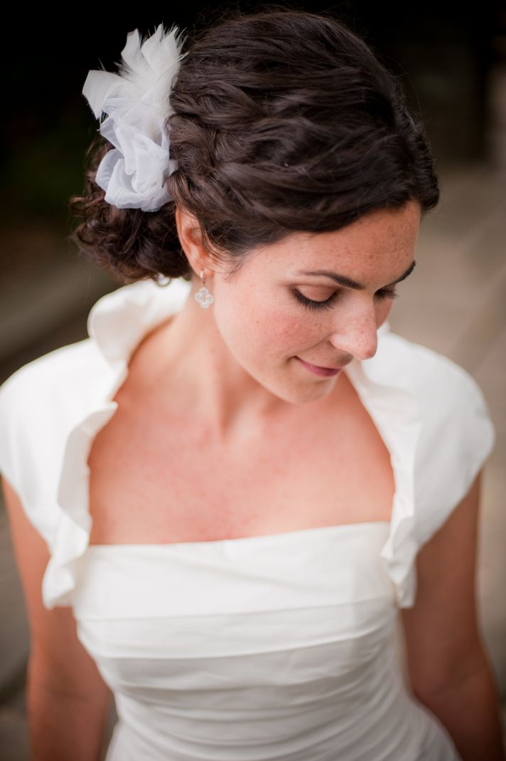 Wedding Hairstyles How To Naturally Curly Updo For Thick Haired