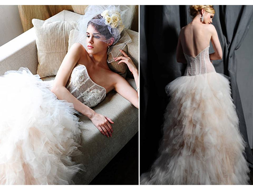 Saison Blanche wedding dresses 2012