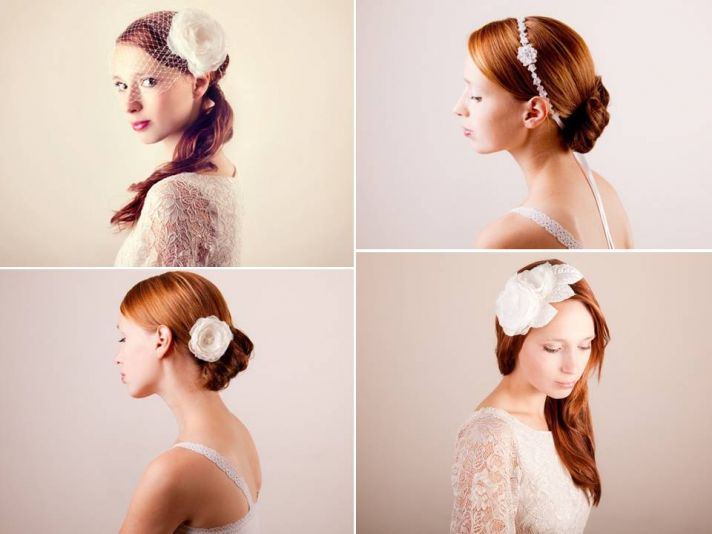 Bespoke bridal veils, headbands and hair flowers for your wedding day