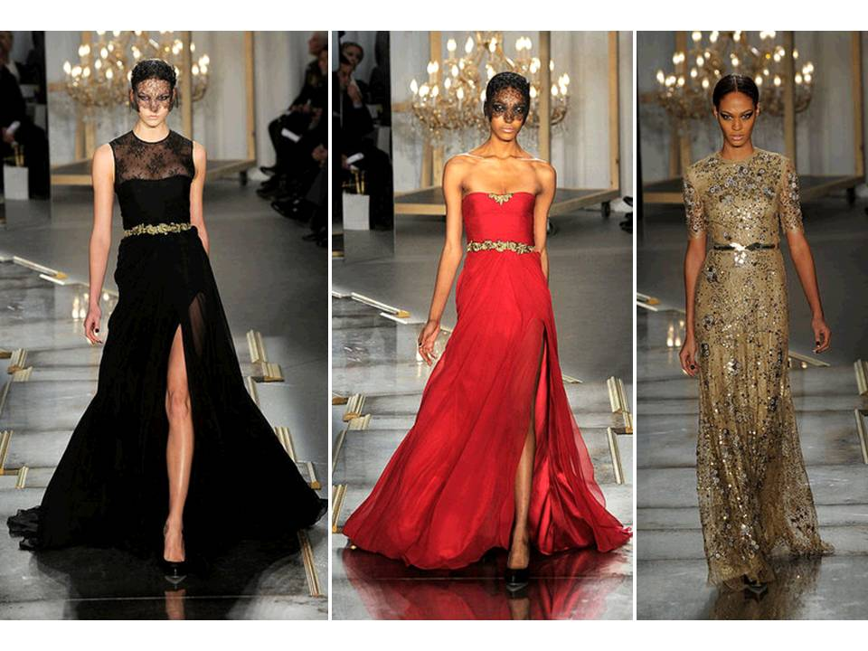 Credit Black Red And Animal Print Gowns By Jason Wu Via Fashionologie
