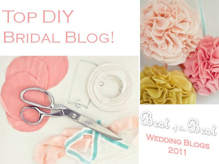 DIY and bespoke wedding inspiration- which bridal blog inspires you most?