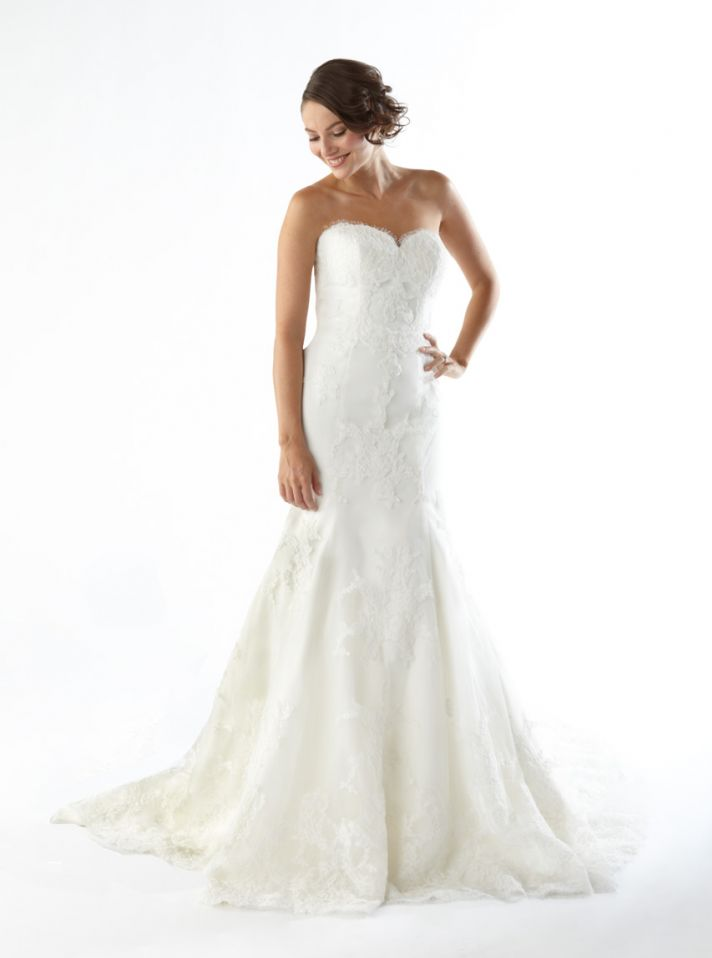 First came nordstrom 39 s wedding shop now costco will for Where to sell wedding dresses