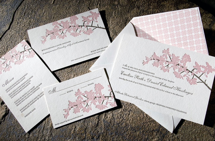 cherry-blossom-eco-friendly-wedding-invitations-romantic-stationery