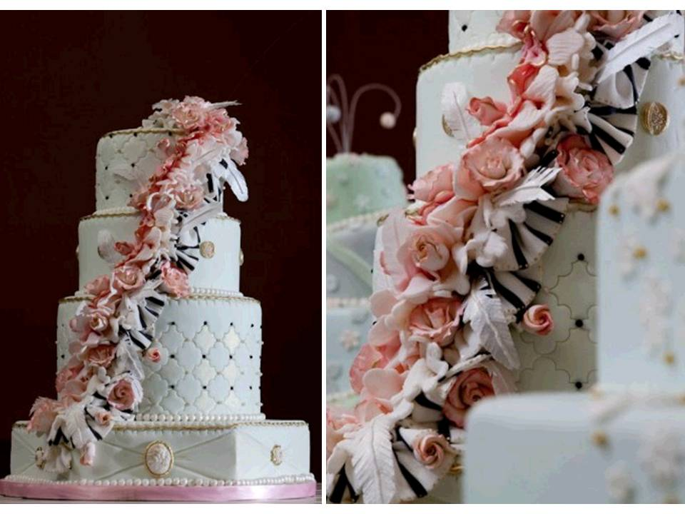Credit VintageInspired Wedding Cake The Caketress