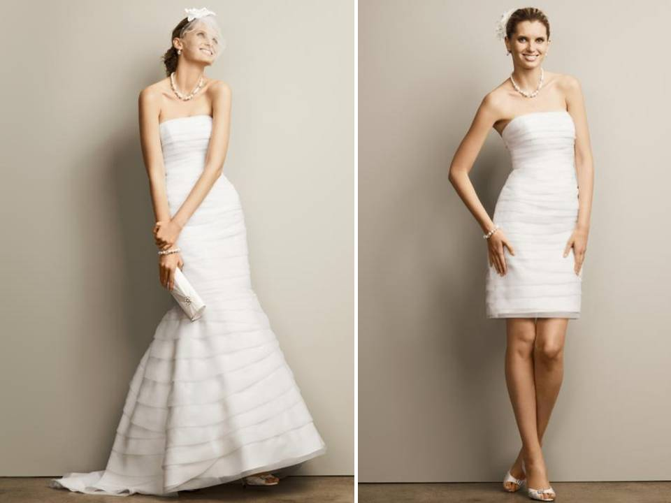 2 be discontinued wedding dresses