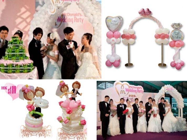 Plan a budget-friendly wedding with McDonald's Hong Kong