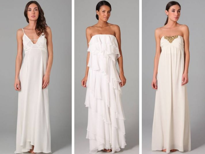 Informal Beach Wedding Dresses Casual Wedding Dresses