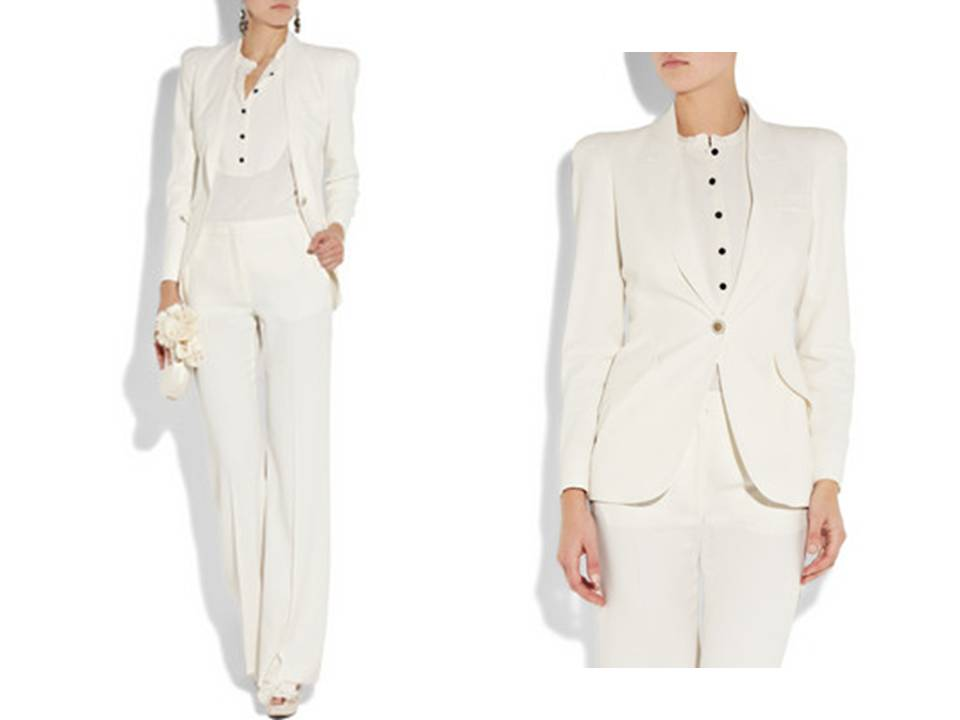 Cool  GroomWomen039sWeddingdress3PCdusterpantsuitplusXL1X2X3X4X5X