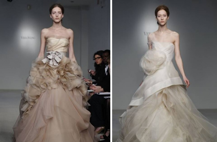 vera-wang-wedding-dress-spring-2012-dramatic-ballgown-taupe-nude-bridal-gown-ivory-textured-a-line